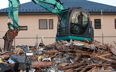 建物の解体の流れ