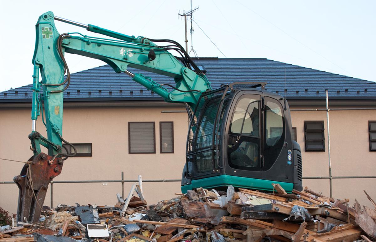 建物の解体のご利用料金